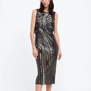 64c59399bd Women s Silver Sequin Tube Dress on Poshmark